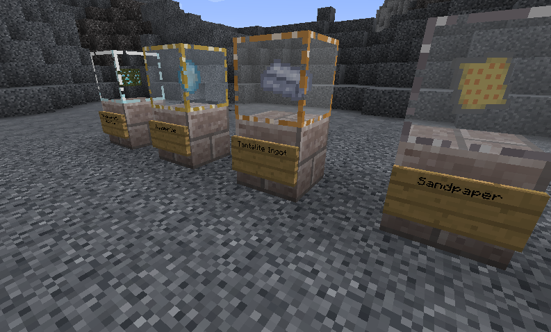 Show your findings in the Display Cases